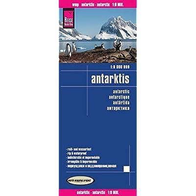 Antarctique : 1/8 000 000