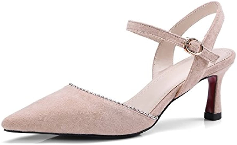 Signore, i sandali, baotou sandali, sandali, sandali, sandali, sandali, moda, ha i sandali,rosa,40 | Reputazione a lungo termine  | Uomini/Donna Scarpa  1d40d6