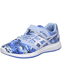 ASICS Unisex Kid's Mist/White Running Shoes-1 UK (33.5 EU) (2 US) (1014A051)