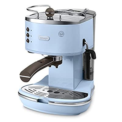 Delonghi ECOV311.AZ Icona Vintage Traditional Pump Espresso Coffee Machine by Delonghi