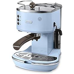 DèLonghi ECOV311.AZ Icona Vintage Macchina per Caffè Espresso con Pompa, Azzurro