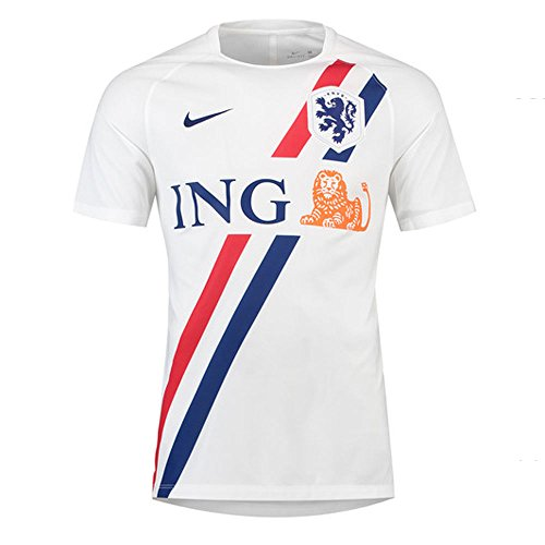 Nike 2018-2019 Holland Dry Pre-Match Training Shirt (White)