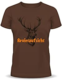 T-Shirt mit Motiv/Spruch Revieraufsicht