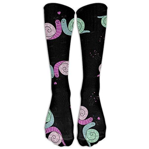 SDFGSE Snail Loves Tape Dispenser Gift Men Women Crew Socks Casual Long Socks Unisex 60cm