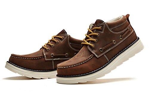 TDA , Chaussures à lacets homme Marron