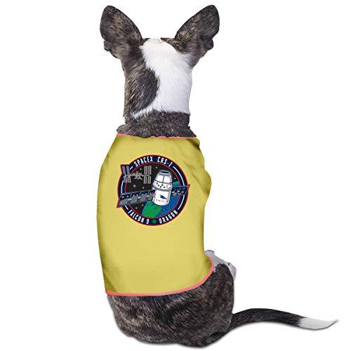Jiaojiaozhe Falcon 9 Rocket Spacex Pet Service Pet Clothing Funny Dog Cat Costume Tshirt - Rocket Girl Kostüm