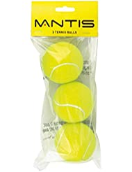 Mantis Tennis Trainer Balls (Pack of 3) - Yellow