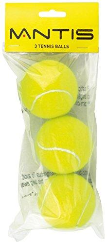 Mantis Tennis Trainer Bälle (3Stück)-Gelb