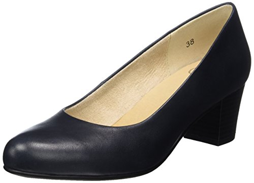 Caprice Damen 22309 Pumps Blau (NAVY NAPPA)