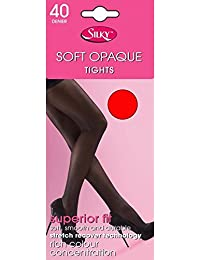 SILKY CHARCOAL 40 DENIER SOFT OPAQUE TIGHTS MEDIUM