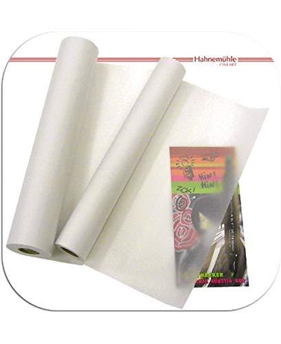 Hahnemühle - Rollo de papel de calco - Ideal para dibujos de alta definición - Transparente - 45 gsm - 0,33 mm x 20 m