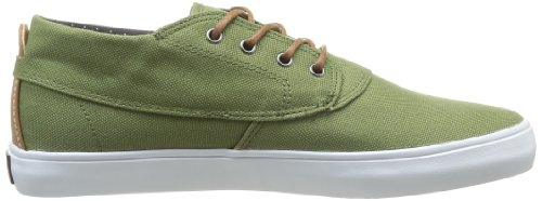 Lakai Camby Mid, Baskets mode homme Vert (Military Green Canvas)