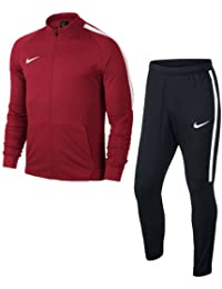 Nike Nk Dry Sqd17 Trk Suit K - Chándal, Niños,Rojo (University Red / Black / White / White), M
