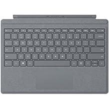 Microsoft Surface Pro Signature Type Cover Cover Port Platino Teclado para móvil - Teclados para móviles