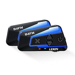 LEXIN 2X B4FM Intercomunicador Casco
