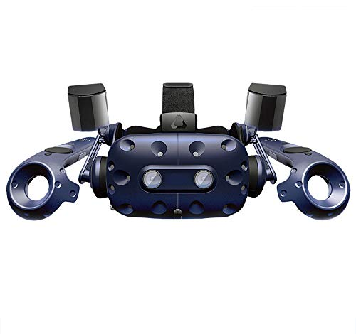 Mikeson Set di Occhiali virtuali per Cuffie (Set 2.0) Casco PC VR VR PRO - Blu