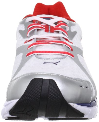 Puma, Scarpe da corsa uomo bianco (Blanc (01White/Usa/Evening Blue))