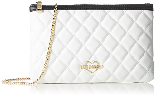 9c8a9530bef Love Moschino Borsa Quilted Nappa Pu Bian cuo ner