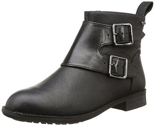 Clarks Mint Zest Gtx, Boots femme Noir (Black Leather)