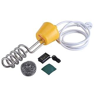 GXMZL Tauchsieder - 3000W 220V Edelstahl elektrisch schwimmend Tauchsieder Boiler Wasser Heizelement 3m for Becken, Badewanne zum Erhitzen von Wasser