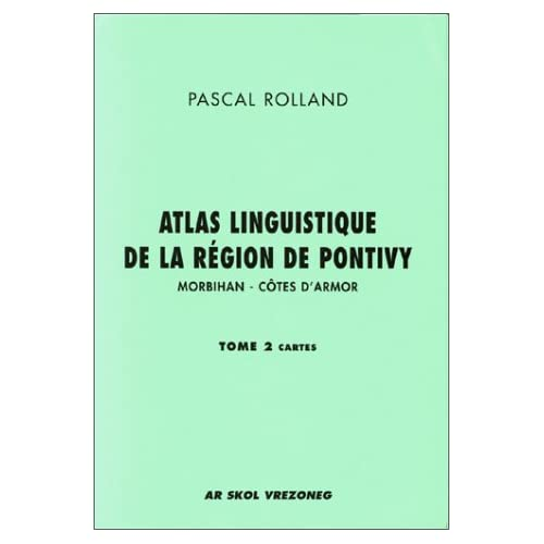 Atlas linguistique de la région de Pontivy