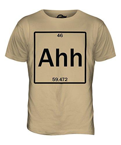 CandyMix Das Element Der Überraschung Herren T Shirt Sand