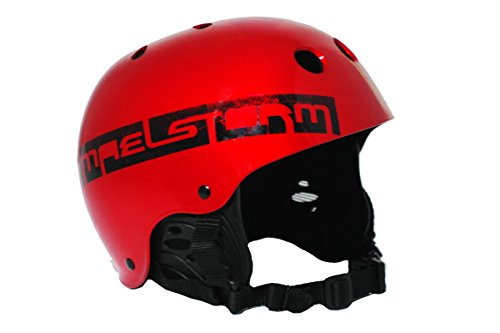maelstorm Aqua Wave Kitesurfing Helm Metallic Rot für watesports Kiteboarding Windsurfen Wasserski Jet Ski SUP Kajak Kanu Paddeln