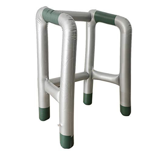 Fenteer PVC Aufblasbare Gehhilfe Rollator Gehgestell Scherzartikel Cosplay Zubehör