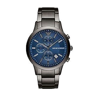 Emporio Armani Reloj Cronógrafo para Hombre de Cuarzo con Correa en Acero Inoxidable AR11215
