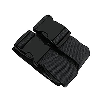 Galopar Heavy Duty Cross Luggage Straps Adjustable Suitcase Combination Travel Accessory Suitcase Belts