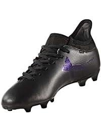 adidas Boys' X 17.3 FG J Footbal Shoes, White