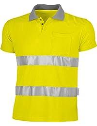 Warnschutz-Poloshirt-Shirt,75%PES/25%Viskose EN 471