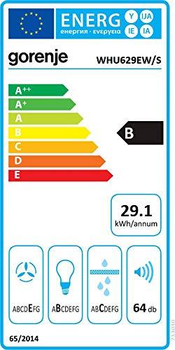 Gorenje WHU 629 EBR/S Dunstabzugshaube/Standard