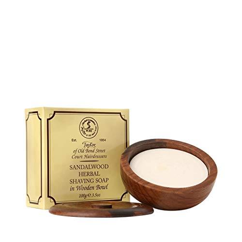 Taylor of Old Bond Street - Sandalwood - Shaving Soap - Rasierseife im Holztiegel - 100 g