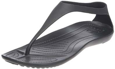 Crocs, Sexi Flip, Sandali, Donna, Nero (Black/Black 060), 35