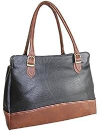 Fargo Couthy PU Leather Women's & Girl's Shoulder Handbag (Black,Brown_FGO-045)