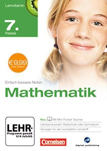 Lernvitamin - Mathematik 7. Klasse (für Realschule und Gymnasium)