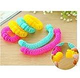 T.Sewing 1* magic Hair curler plastic Bendy Hair Styling Roller Curler Spiral Curls DIY Tool