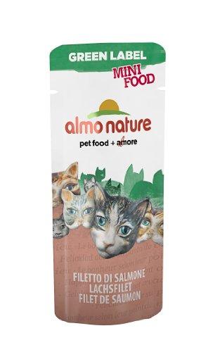 Almo Nature - Complément Almo Nature Green Label Mini Food Au Filet de Saumon Green Label Filet de Saumon
