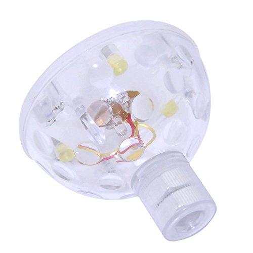 LED Imperméable Sous-marin Flottant Lampe Lumière Multi Couleur En changeant Nuit Lumière Accueil Une baignoire Cuve Étang bassin Bar Décoration Cadeaux (6PCS)