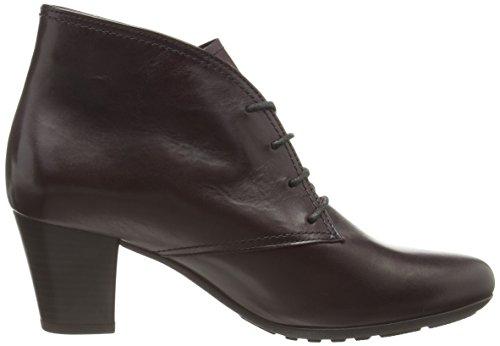 Gabor Guest, Damen Kurzschaft Stiefel Rot (dark Red Leather)