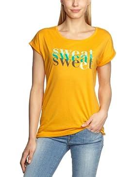 Esprit Camiseta de deporte de manga corta para mujer