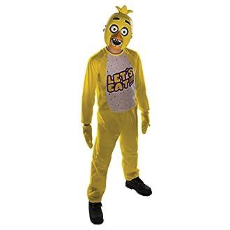 Rubie's Costume pour Enfant de Chica de Five Nights at Freddy's, 132 cm, Taille M, pour 5 à 7 Ans