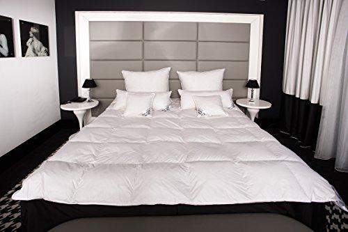 Mayaadi-Home HS45 Daunendecke Bettdecke Kassettendecke Decken 200x220 70/30 Daunen Somemr 1000 G