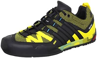 e14ec4020589 adidas Performance Terrex Solo Clogs And Mules Mens Yellow Gelb (Vivid  Yellow S13 Black