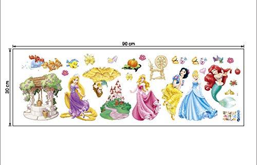 Zoom IMG-3 kibi adesivi da parete principesse