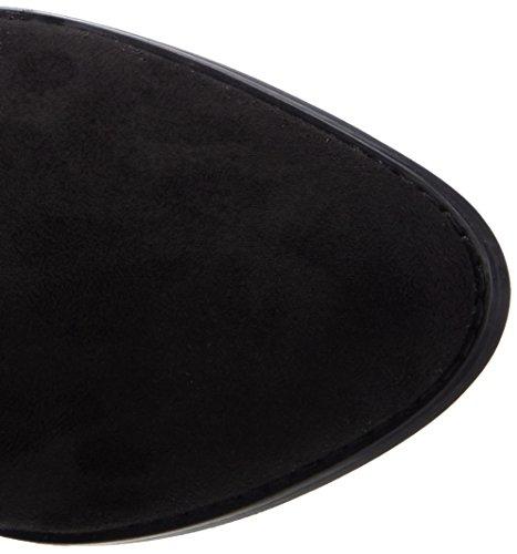 Buffalo 414-6176 Elastic Imi Suede, Bottes femme Noir (black 01)