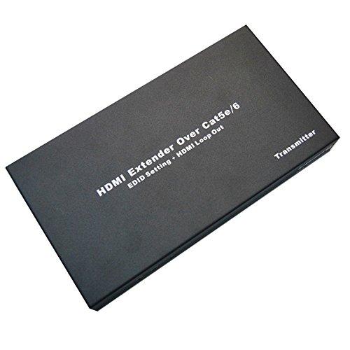huierav 50,3m/50M HDMI Splitter 1x 4con Cat5e/6| Loop uscita HDMI