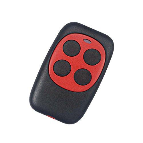 F Fityle Universal Türfernbedienung Funkschlüssel 433MHz Fernsteuerung für Fahrzeug Zentralverriegelungen, Garagentore - Rot