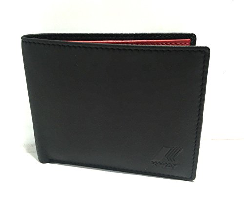 Brieftasche - K-colorblock 5dkk9203 - A4 RED - XS (Colorblock-leder-jacke)